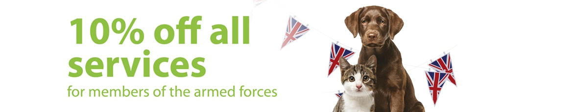 Armed Forces 10% Discount